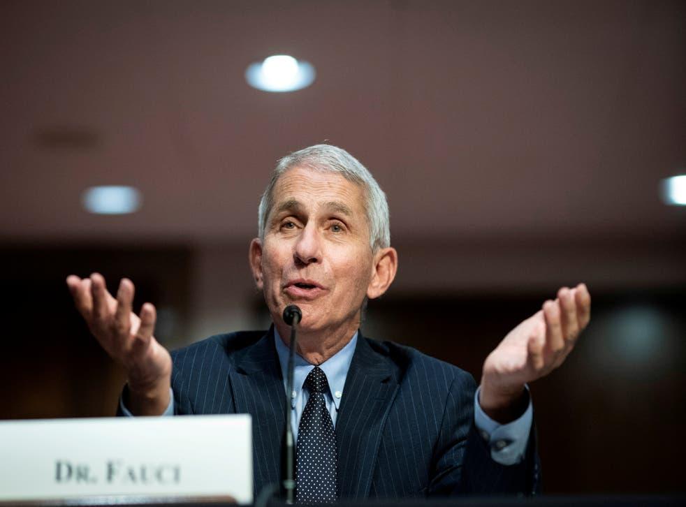 Fauci es uno de los principales expertos en enfermedades infecciosas del país y parte del grupo de trabajo sobre coronavirus del gobierno de Estados Unidos