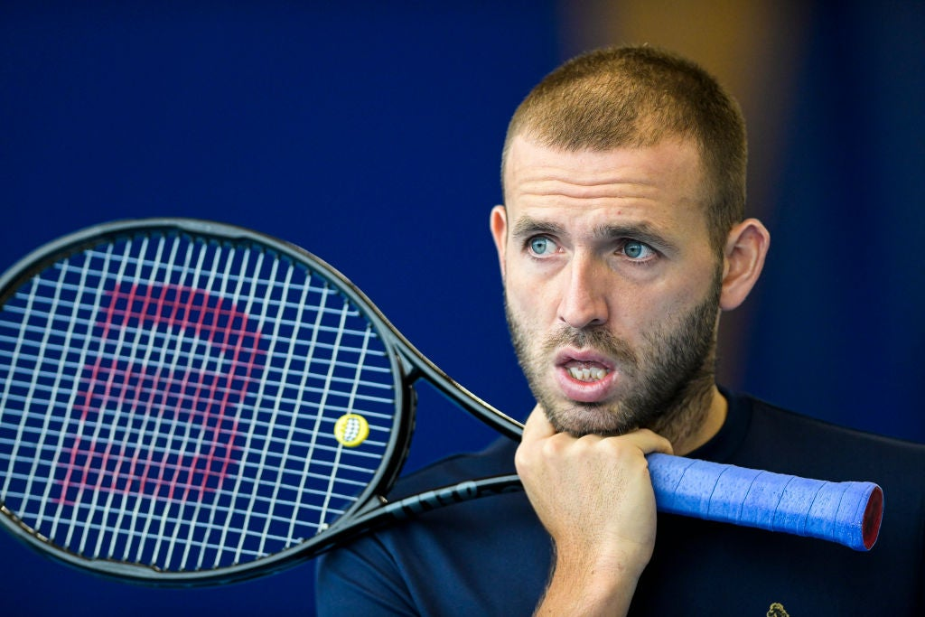 British number one Dan Evans ends five-match losing streak before announcing split from coach