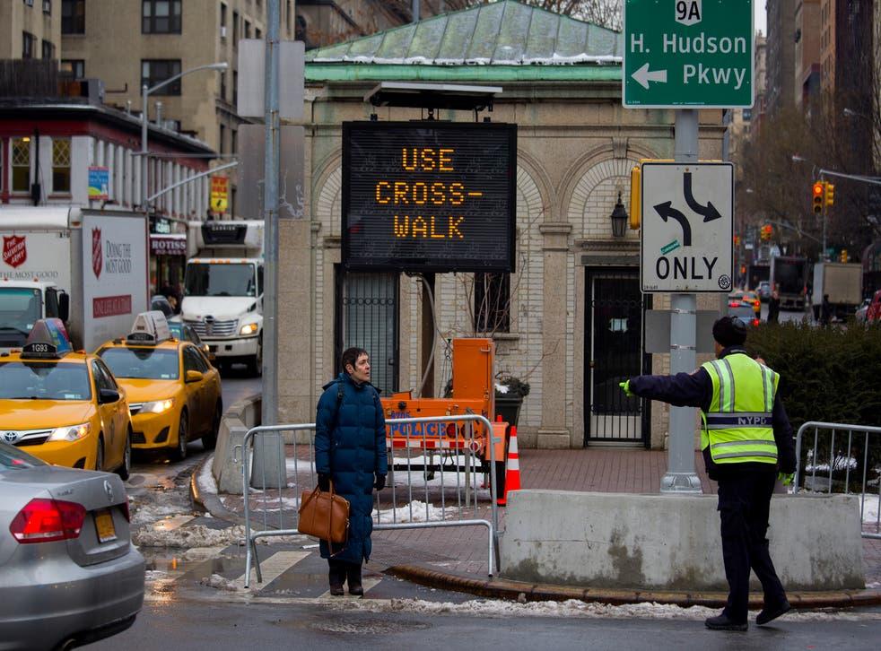 NYC Crosswalks Blind
