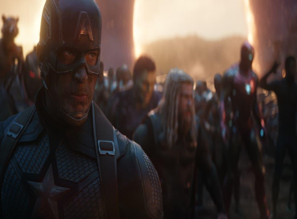 Chris Evans as Captain America and Chris Hemsworth as Thor in 2019's 'Avengers: Endgame'