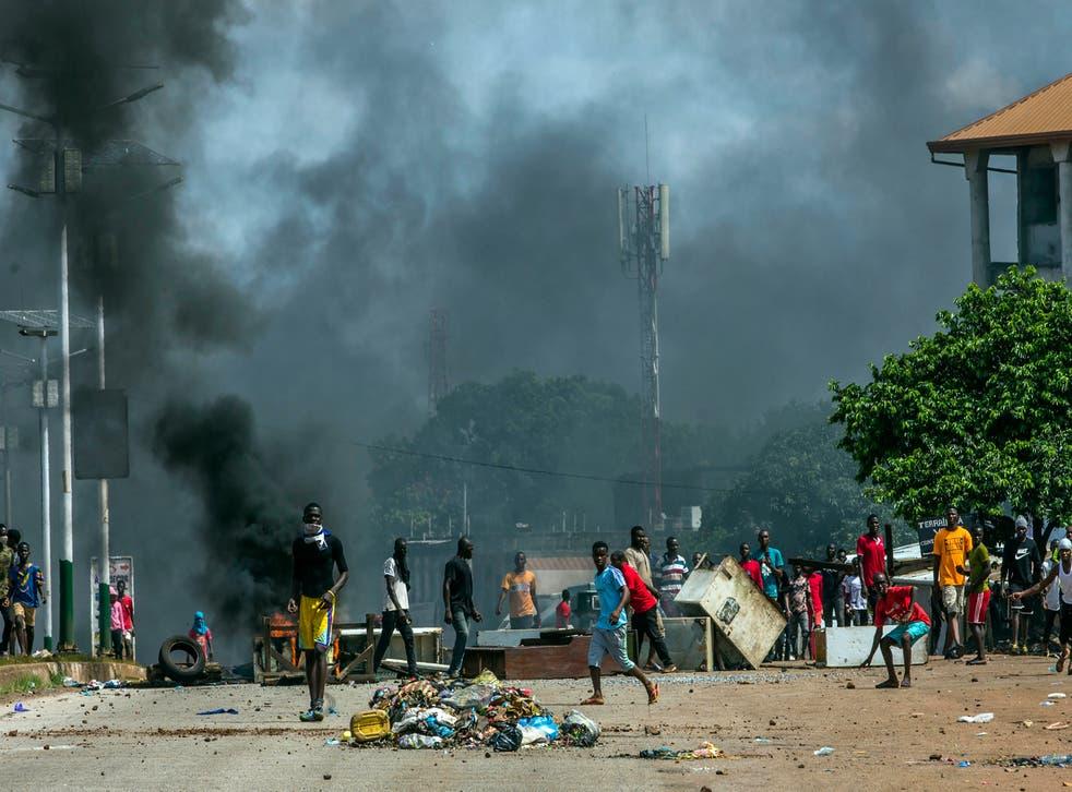Elecciones en Guinea.