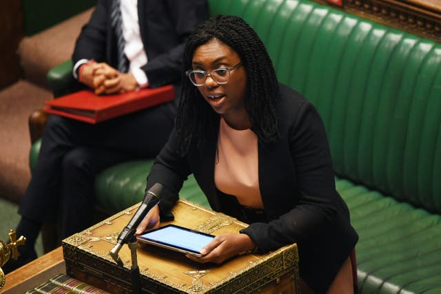 Equalities minister Kemi Badenoch