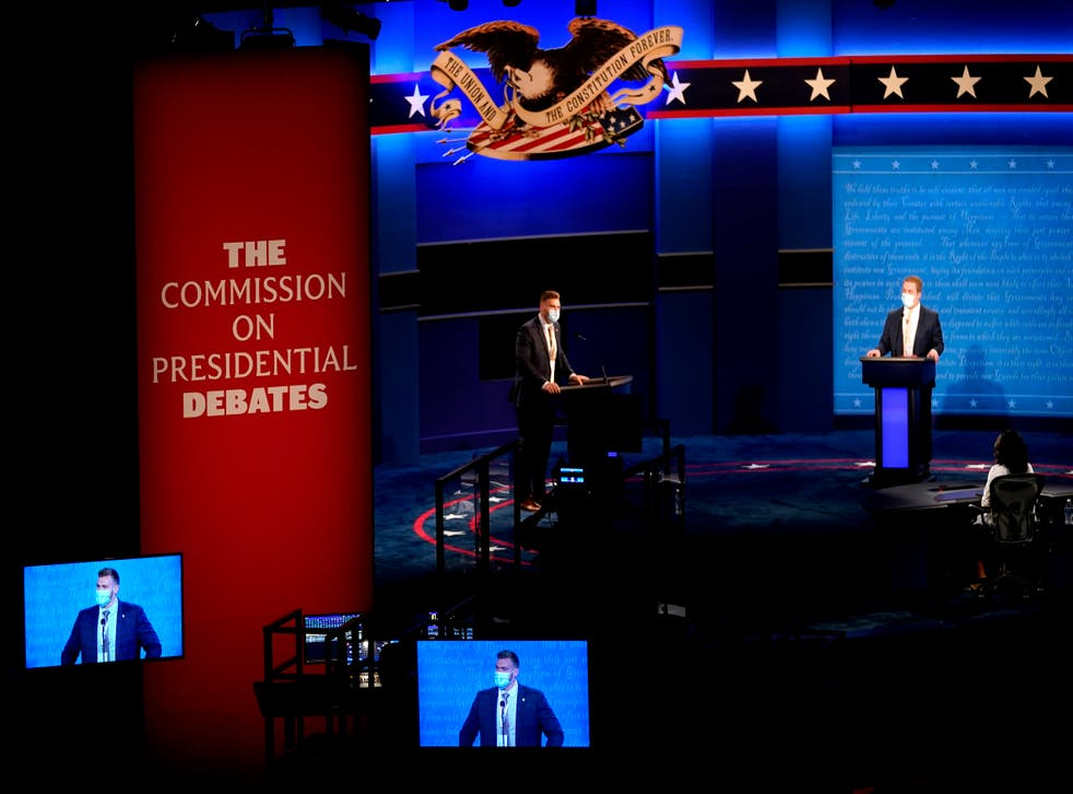 Debate electoral 2020.