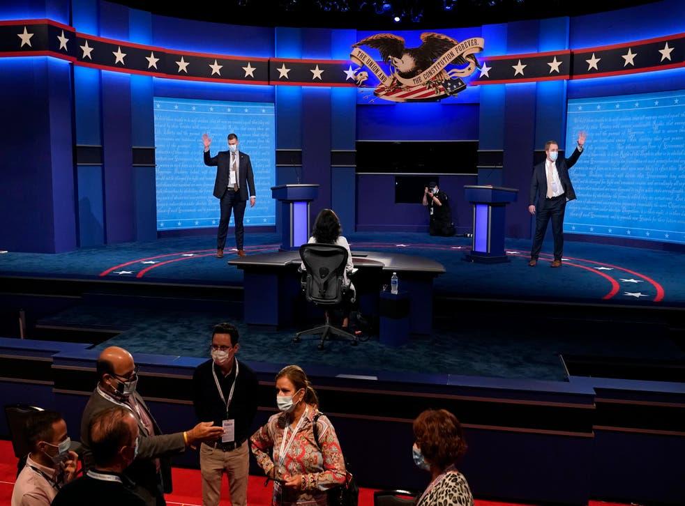 Debate de las elecciones de 2020.