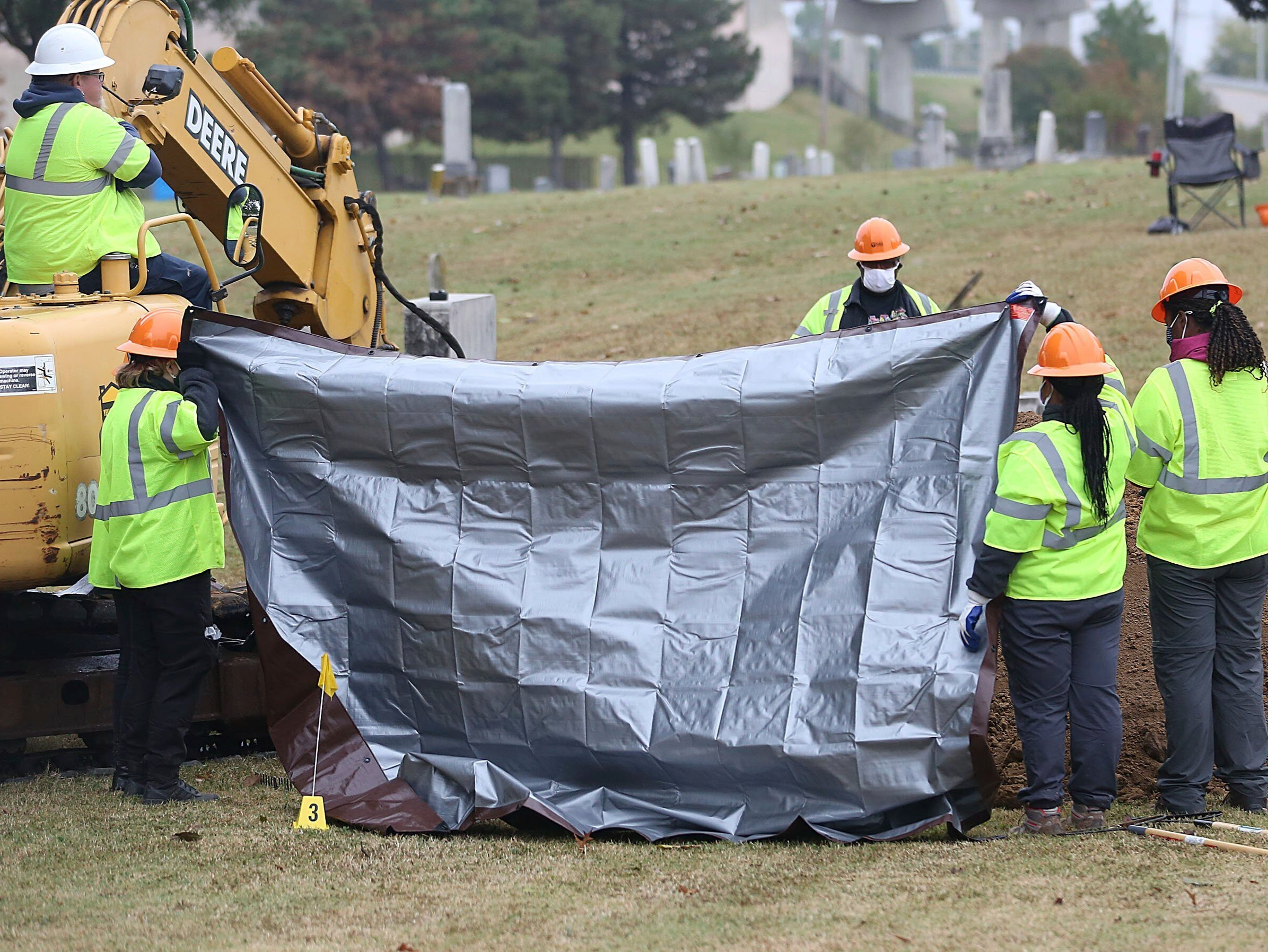 Mass grave found in search for 1921 Tulsa race massacre victims - independent