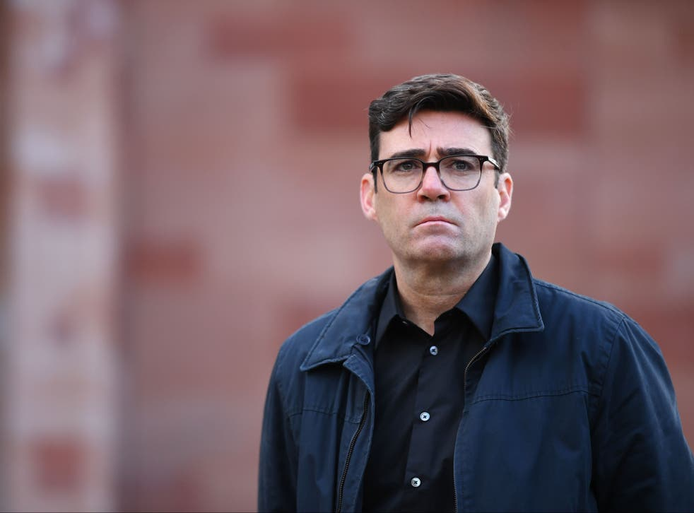 Mayor of Greater Manchester, Andy Burnham, was clapped for defying Westminster