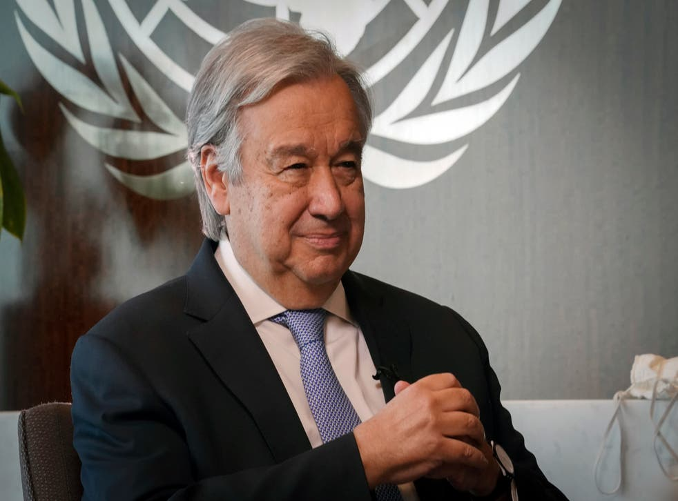 United Nations Guterres