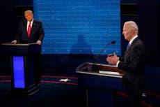 ¿Quién ganó el debate presidencial entre Trump y Biden?