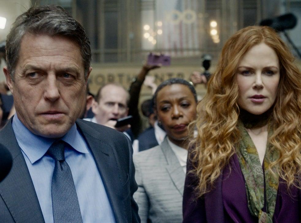 Hugh Grant, Noma Dumezweni and Nicole Kidman in 'The Undoing'
