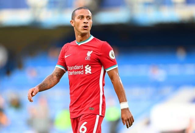 Thiago podría volver para el Liverpool ante el Sheffield United