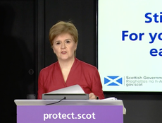 Sturgeon includes 'close to full lockdown' option in five-tier system