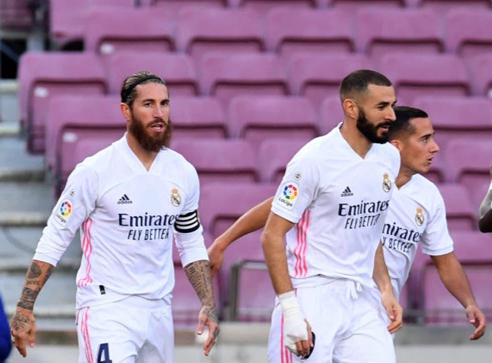 Sergio Ramos se hizo presente en el marcador y puso en ventaja a los madrileños desde el manchón de penalti