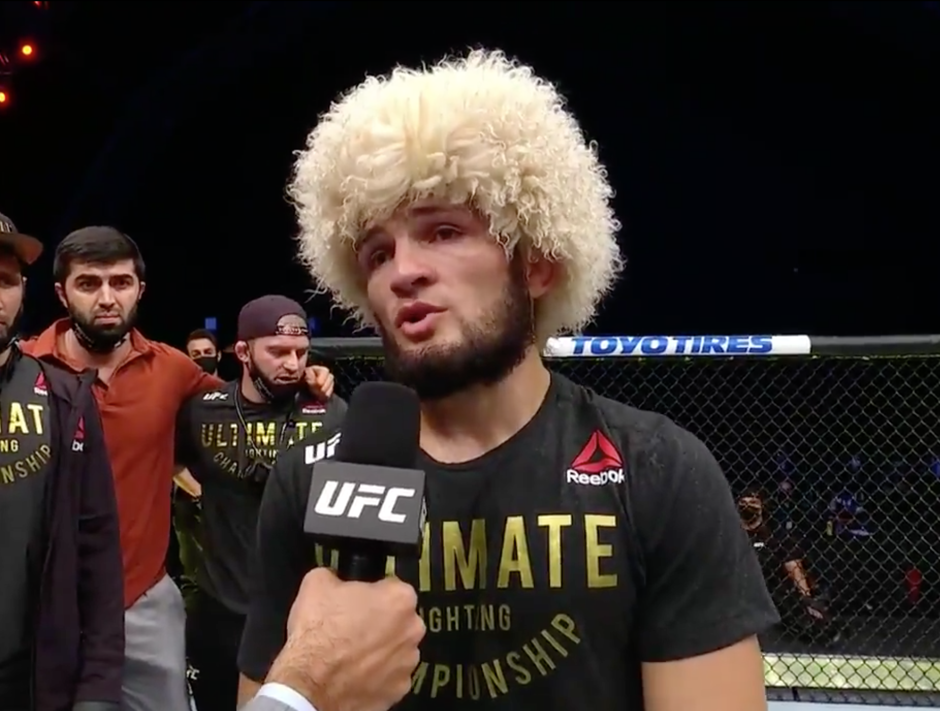 Khabib 'deliberately put Gaethje to sleep to avoid breaking arm in front of his parents'