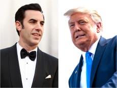 """Sacha Baron Cohen realizó Borat 2 porque """"sentía que la democracia estaba en peligro"""""""