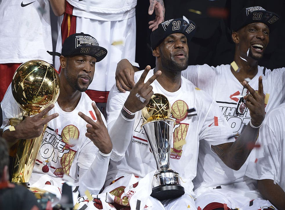 Wade, James and Bosh combined to create 'The Big Three' in Miami