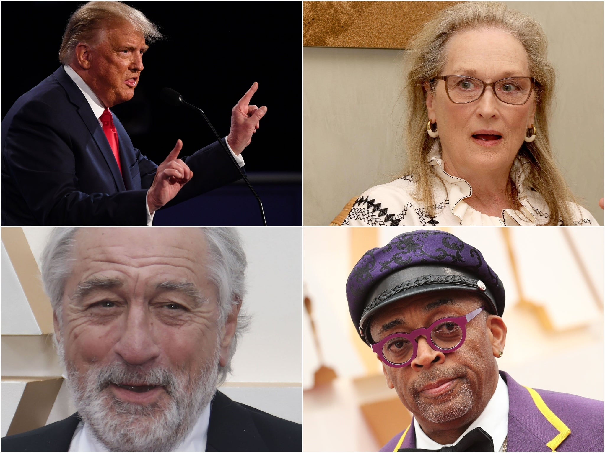 8 times Trump clashed with Hollywood