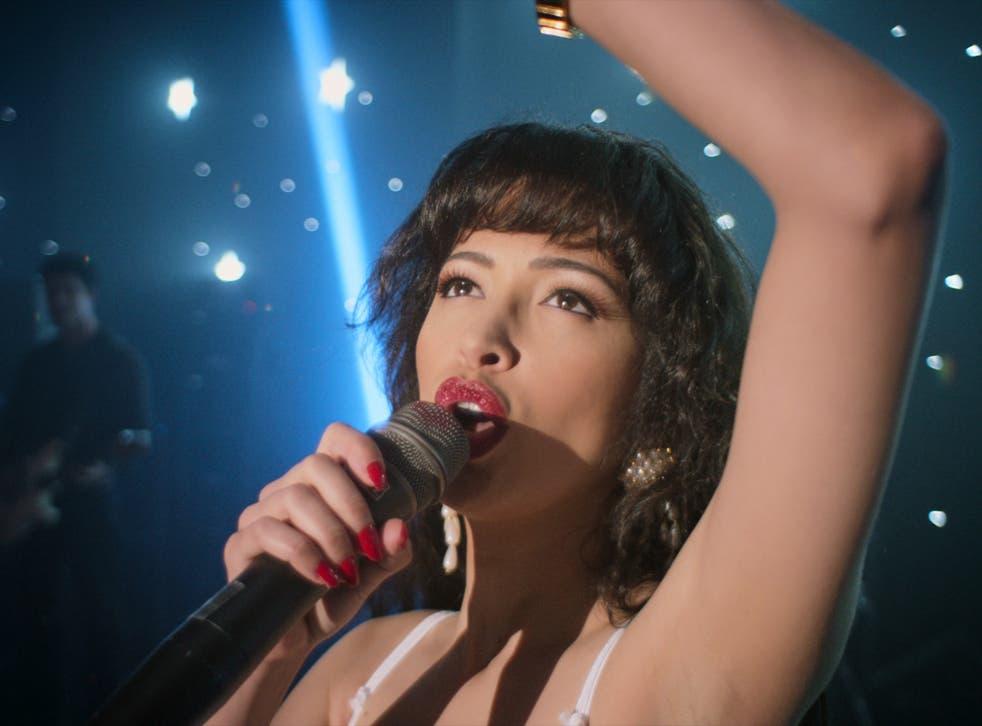 Christian Serratos as Selena Quintanilla in 'Selena: The Series' on Netflix