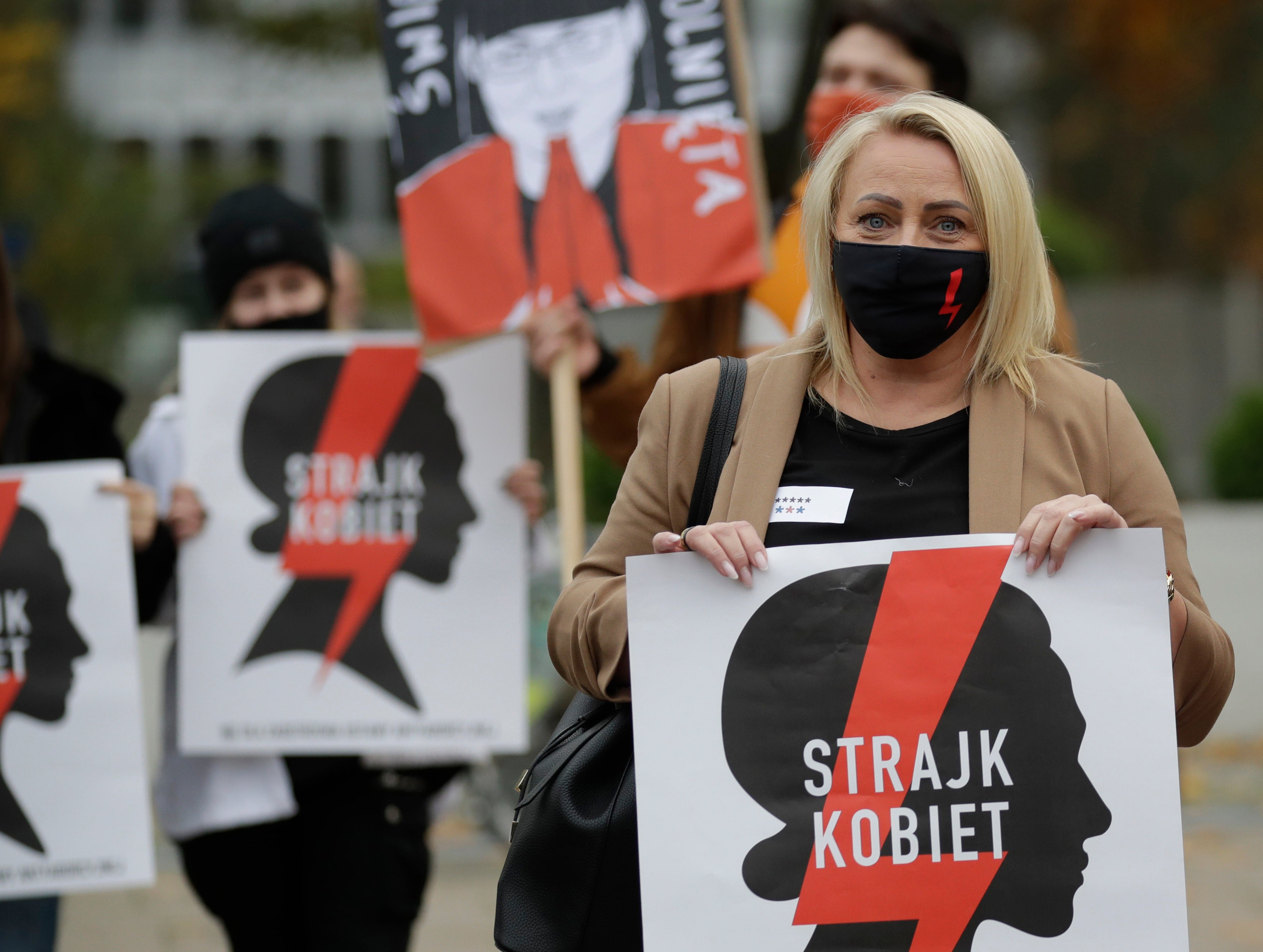 Poland abortion law: Nationwide strike launched after court ruling - independent