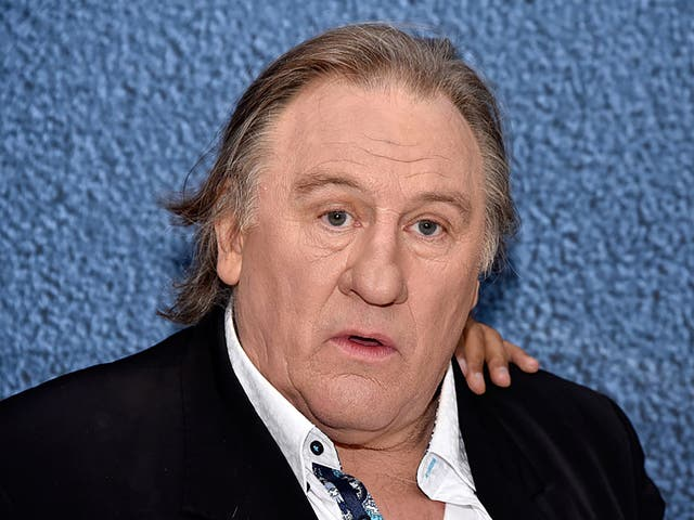 The French actor Gerard Depardieu