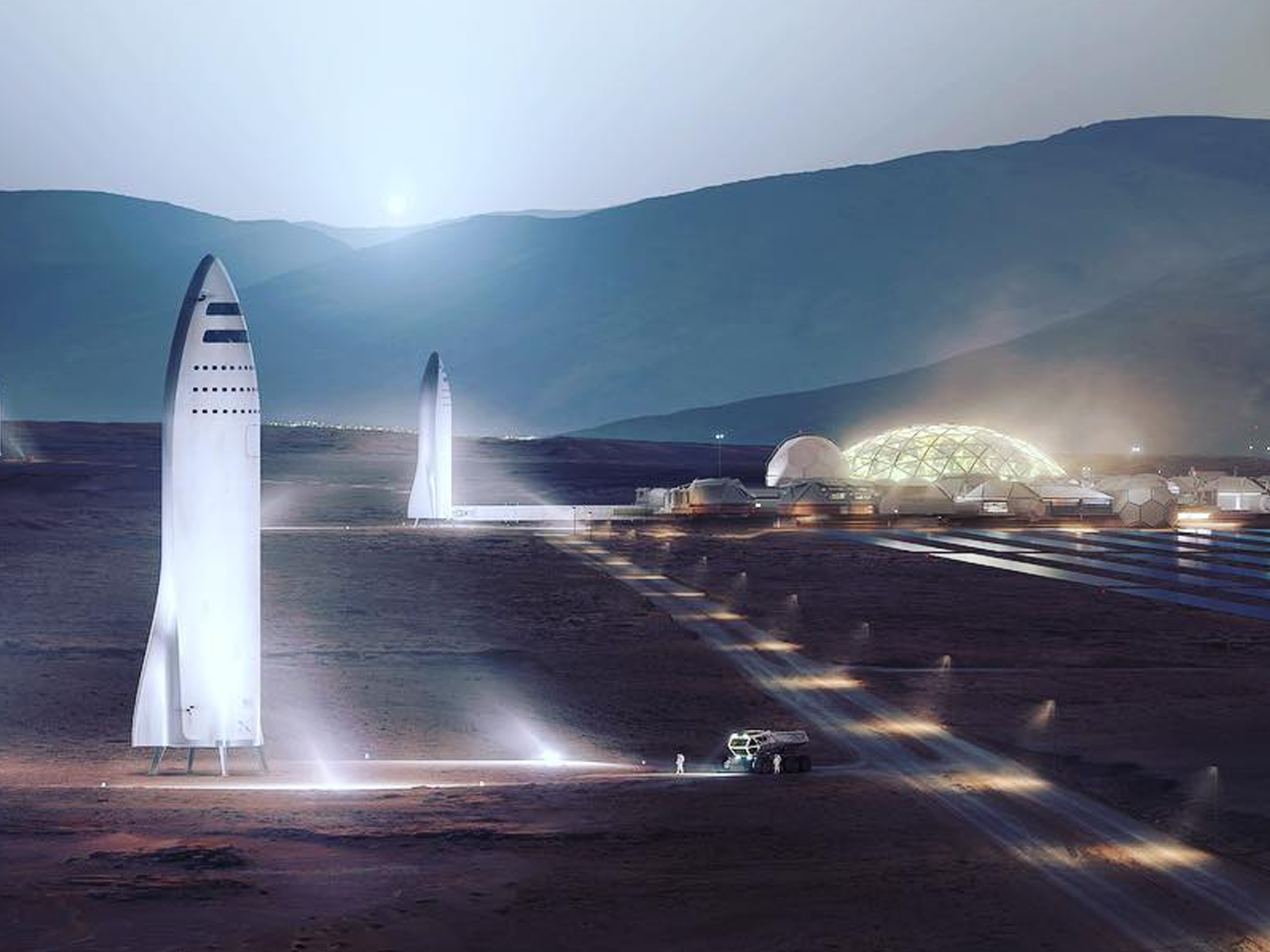 Elon Musk's SpaceX says it will 'make its own laws on Mars'