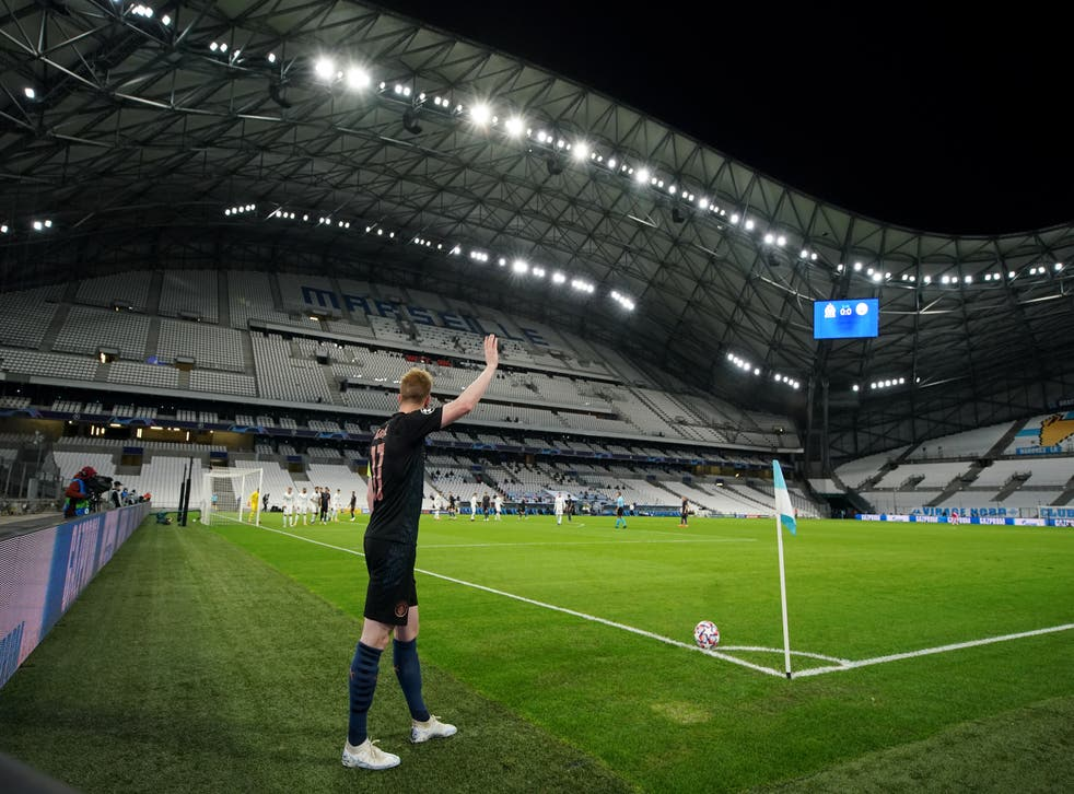 Kevin De Bruyne shined in City's win at Marseille