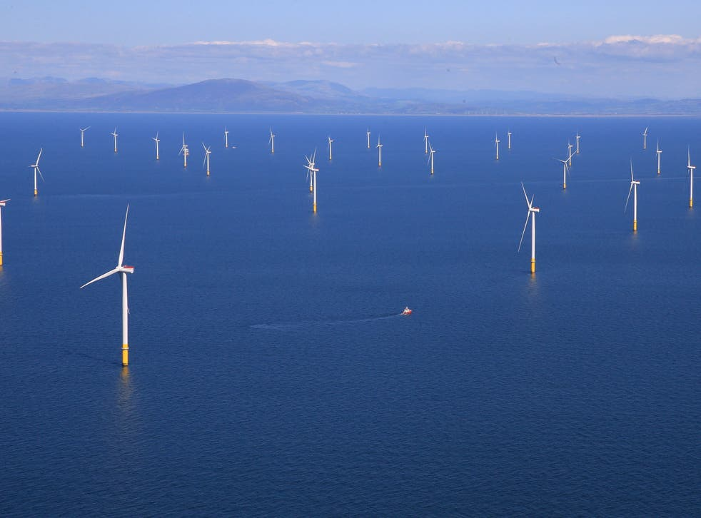 Scotland currently has 1GW of wind, but is aiming to ramp up capacity to 11GW by 2030
