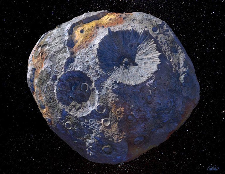 Asteroid worth $10 quintillion could be only one of its kind