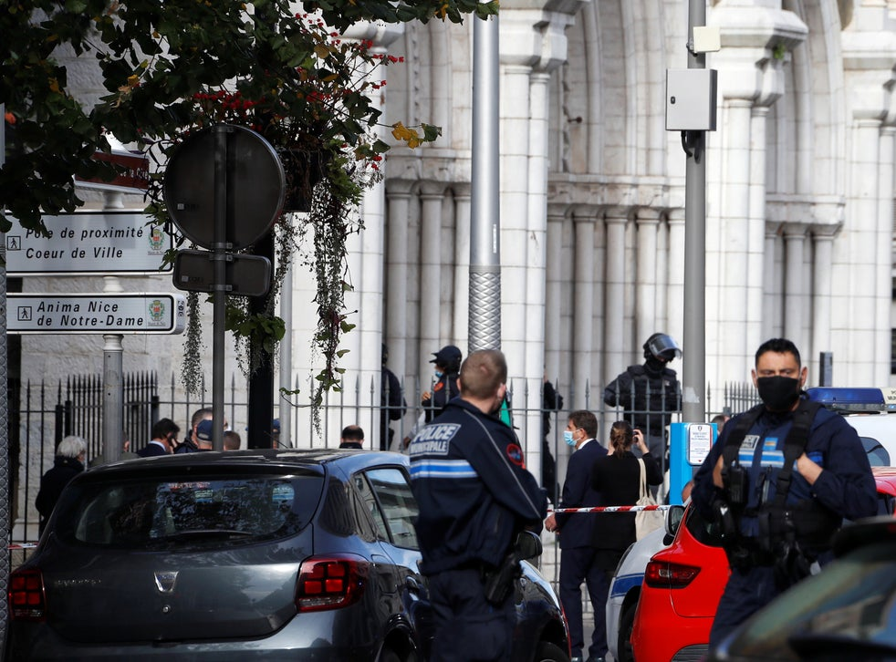 <p>Three people died on Thursday in an attack on a Nice church</p>