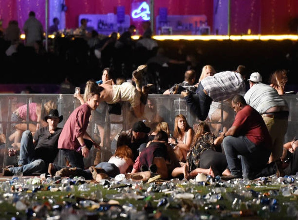 <p>The Route 91 Harvest country music festival shooting left 58 dead on October 1, 2017 in Las Vegas, Nevada</p>