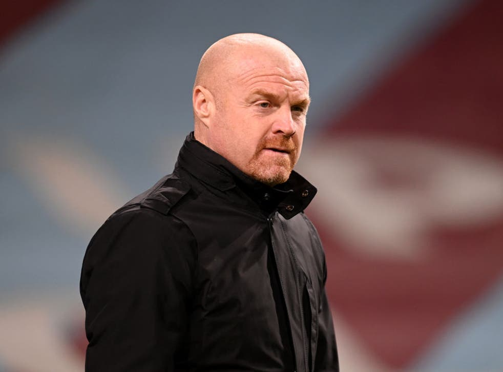 <p>Burnely manager Sean Dyche</p>