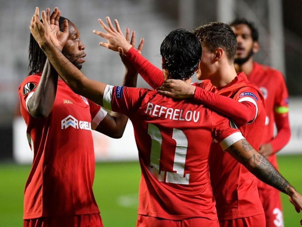 Lacklustre Tottenham stunned by Royal Antwerp in Europa League