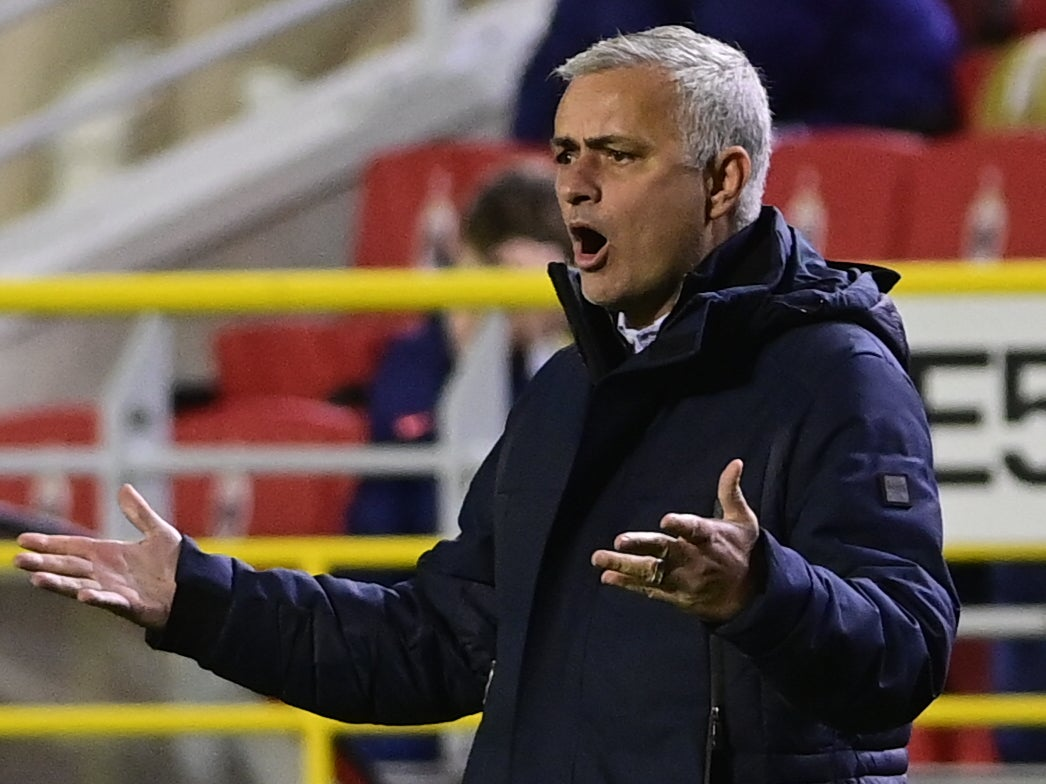 'Now you know!': Mourinho tears into Spurs players after Antwerp loss