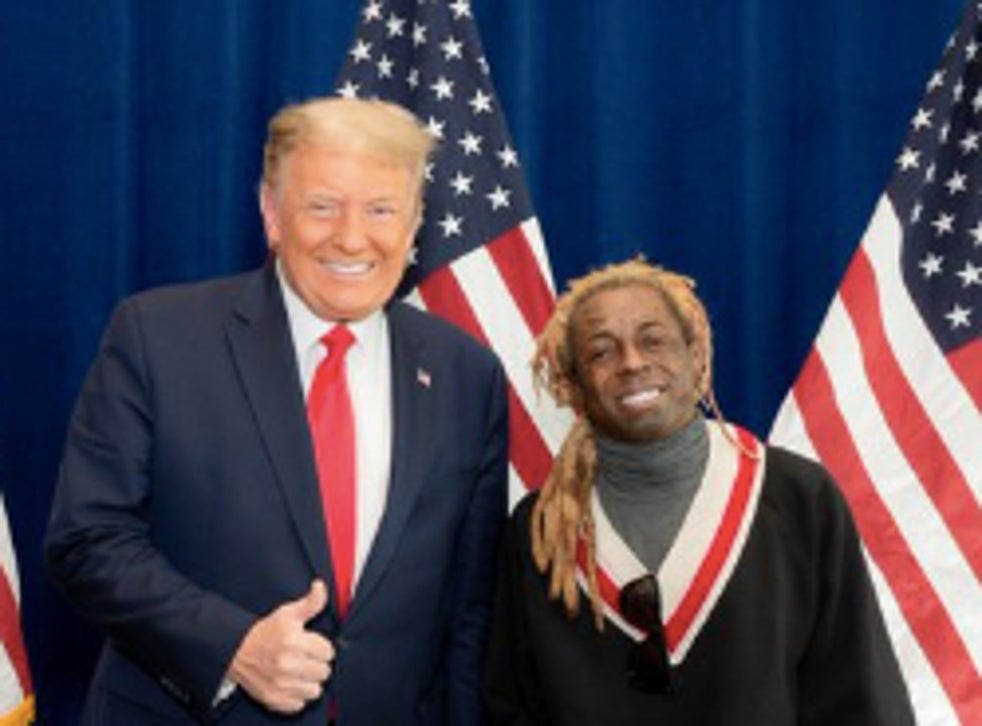 pLil Wayne posted the photo on his twitter account/p