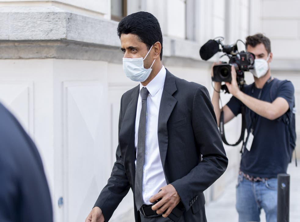 Nasser al-Khelaifi has been acquitted of criminal mismanagement in a Swiss corruption trial