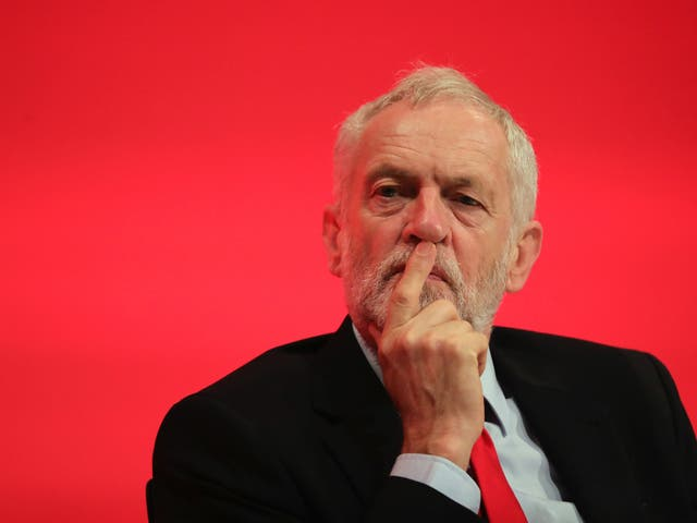 <p>Seeing red: Corbyn's treatment has riled the left</p>