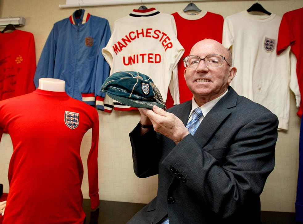 <p>Nobby Stiles suffered dementia due to heading a football, doctors believe</p>