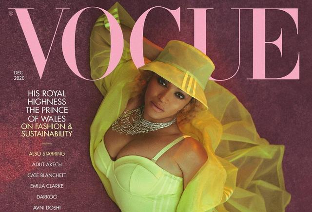 Beyoncé is British Vogue's December 2020 cover star