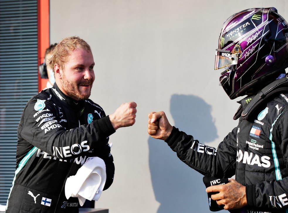 <p>Nuevamente, el equipo Mercedes tendrá las primeras dos plazas de salida durante el evento</p>