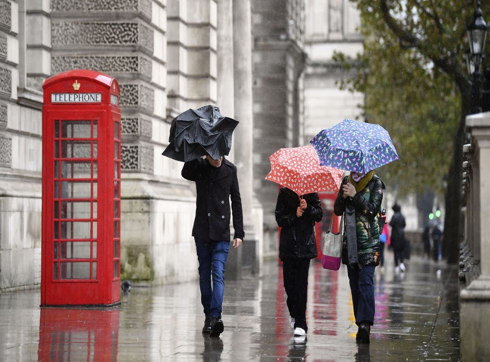 The Met Office has warned torrential downpours are set to bring 'dangerous' flooding across the UK