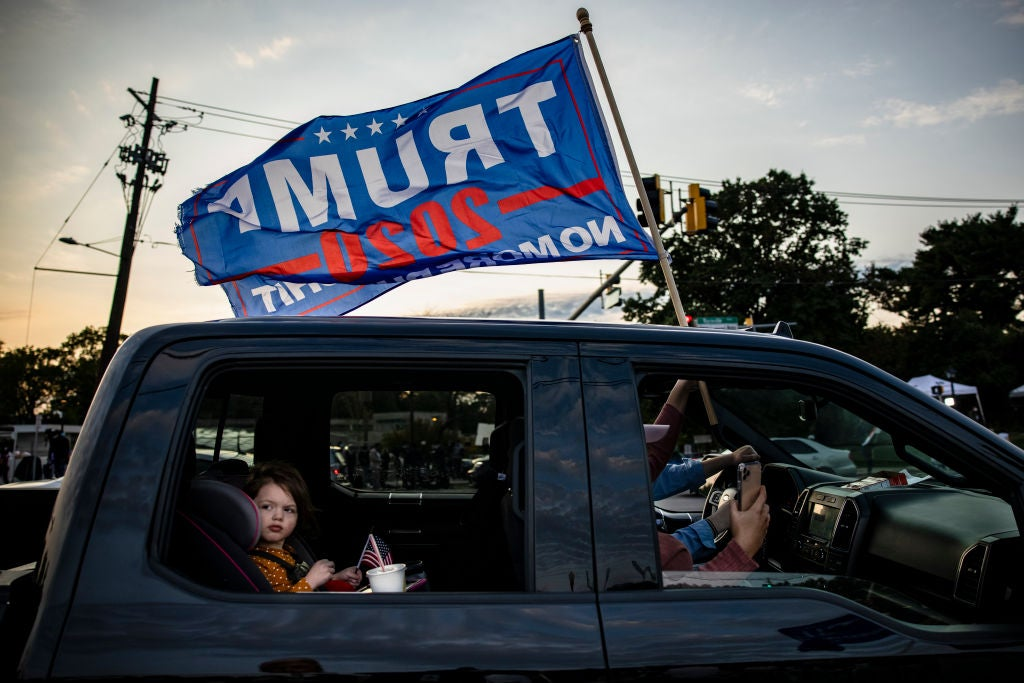 Trump supporters block major New Jersey highway ahead of 2020 election