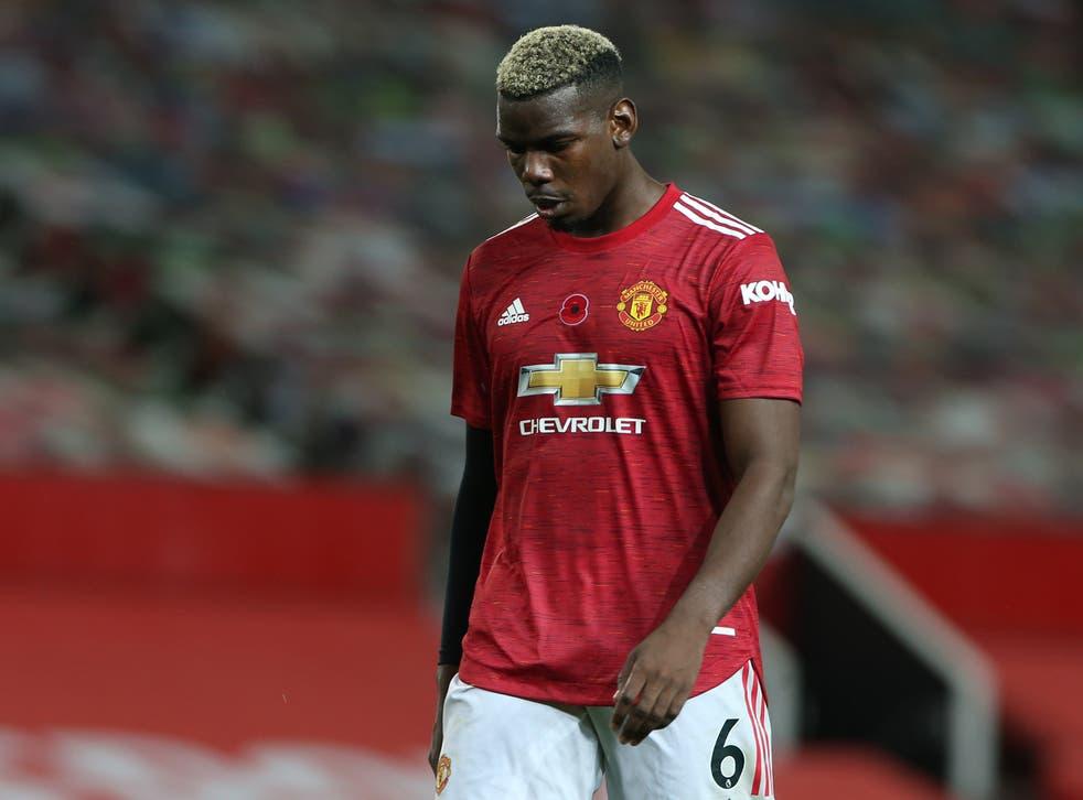 El centrocampista del Manchester United Paul Pogba