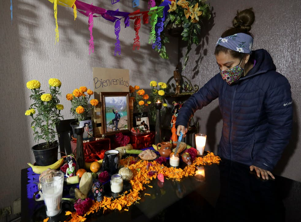 Virus Outbreak Mexico Day of the Dead
