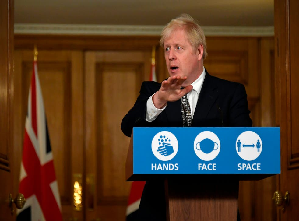 <p>Boris Johnson cancelled a planned speech to the CBI conference on Monday</p>