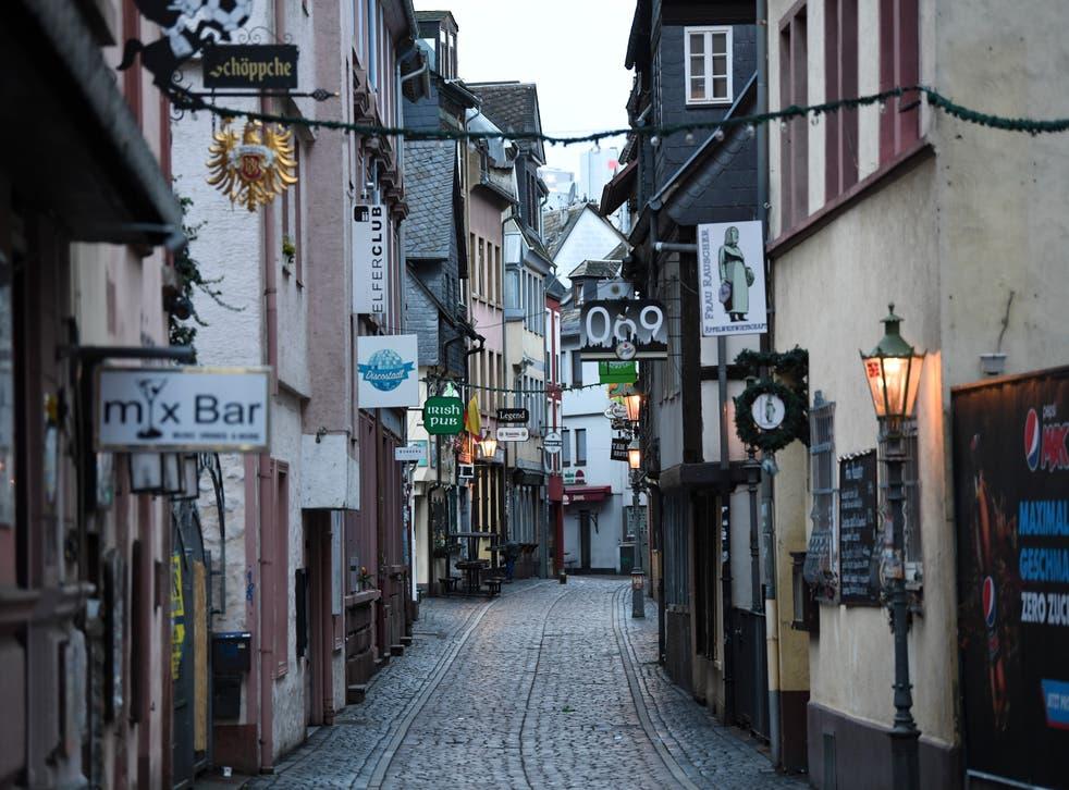 <p>Brote de coronavirus en Alemania</p>
