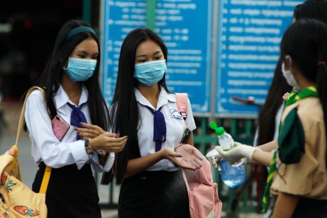 Virus Outbreak Cambodia