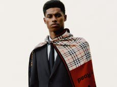 Rashford and Burberry partner to provide help for UK youth clubs
