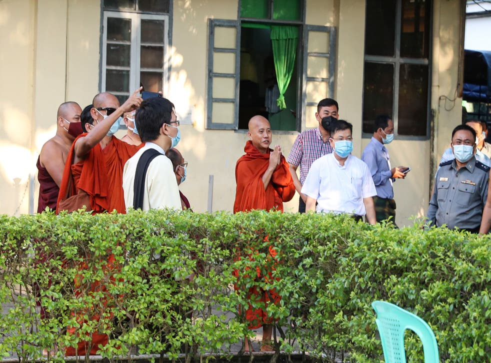 Myanmar Firebrand Monk