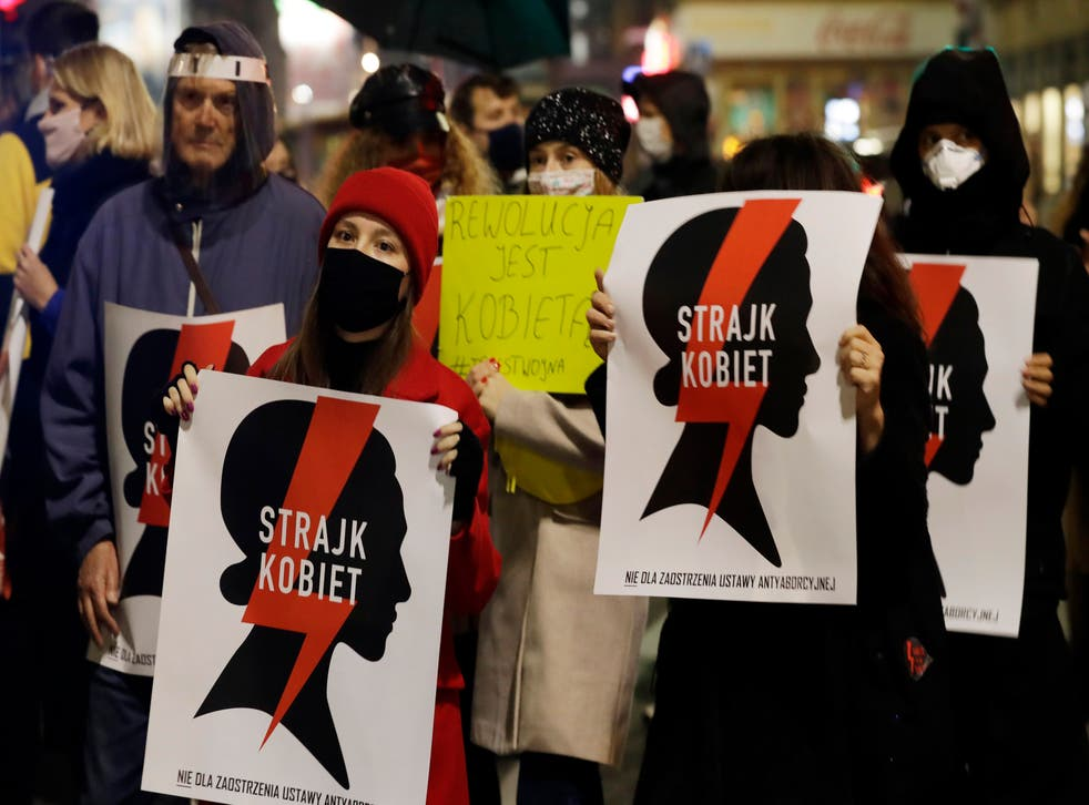 <p>Poland has been catapulted into chaos in the wake of last month's hugely controversial court ruling, which amounts to an almost total ban on abortion</p>