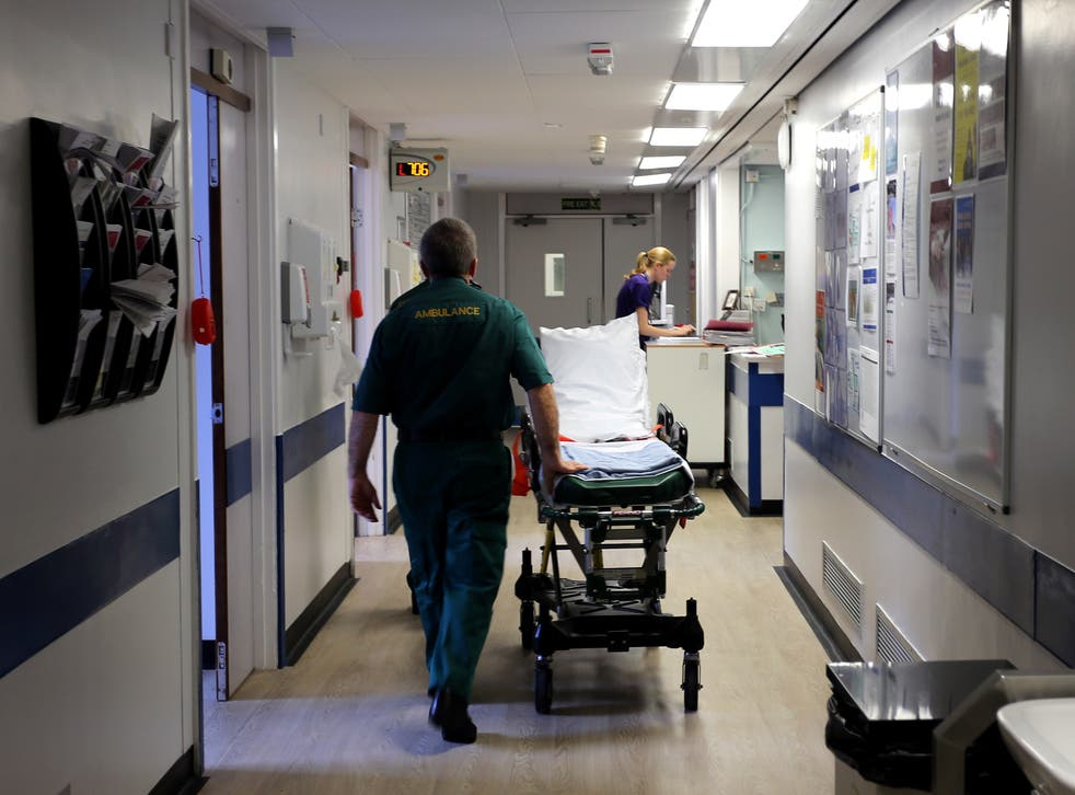 A ward at Royal Liverpool University Hospital where inspectors found wards were dangerously understaffed