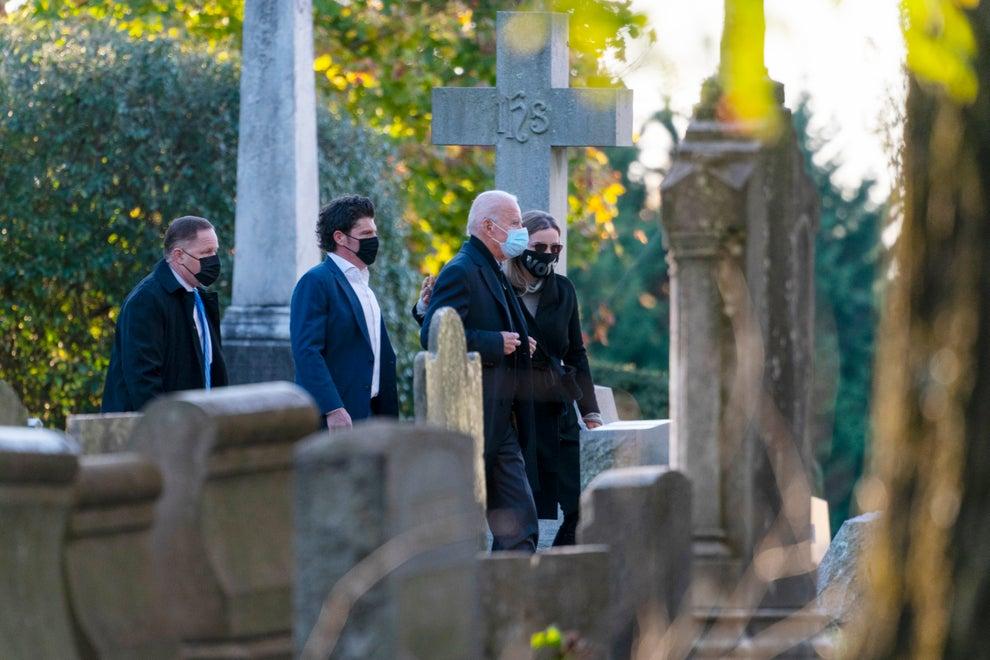 US Election: Biden begins Election Day visiting Son's Grave